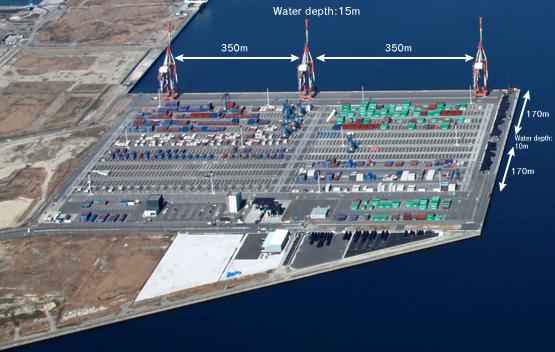 Hibiki Container Terminal Container Terminals Amp Harbor