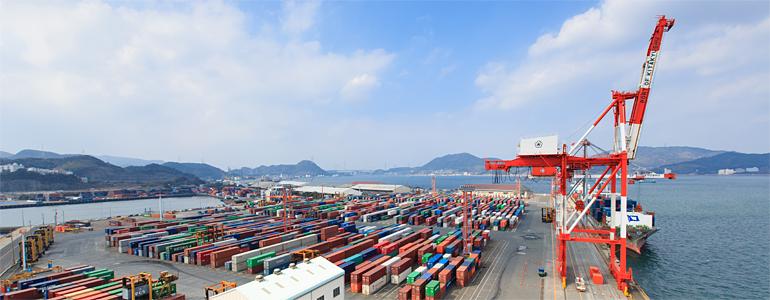 北九州港 port of kitakyushu